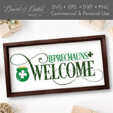 Leprechauns Welcome SVG File - Commercial Use SVG Files