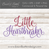 Little Heartbreaker SVG File - Commercial Use SVG Files