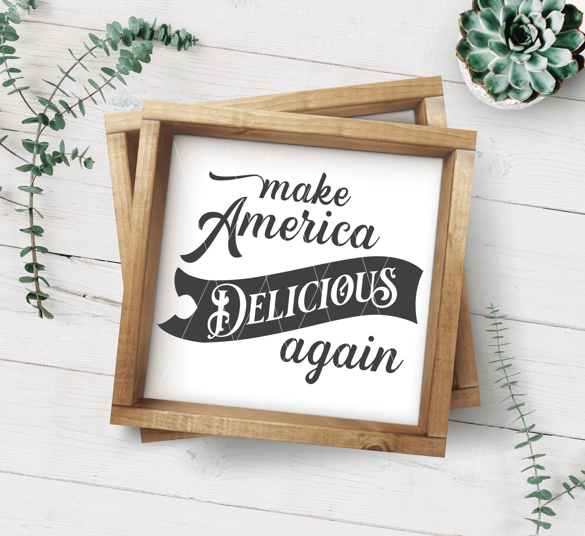 Make America Delicious Agaian SVG File - Commercial Use SVG Files