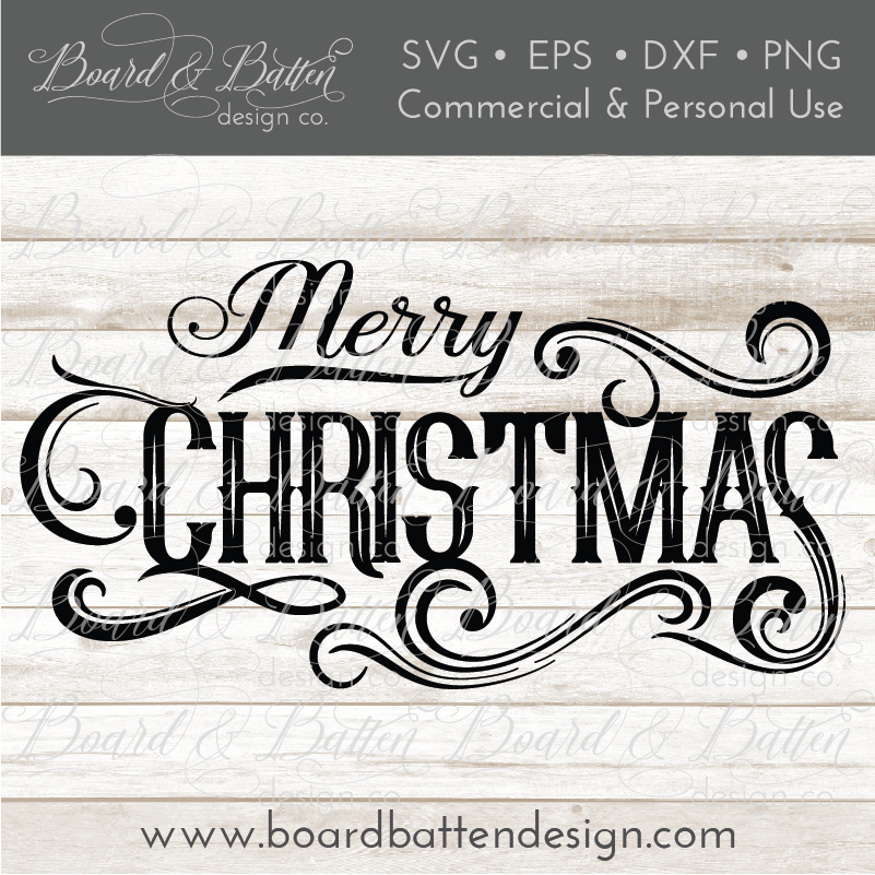 vintage label merry christmas svg file commercial use svg files