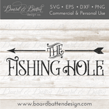 The Fishing Hole SVG File - Commercial Use SVG Files