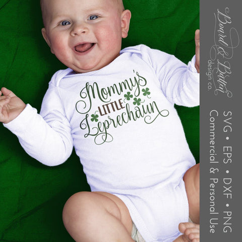 Mommy's Little Leprechaun SVG Set of 7