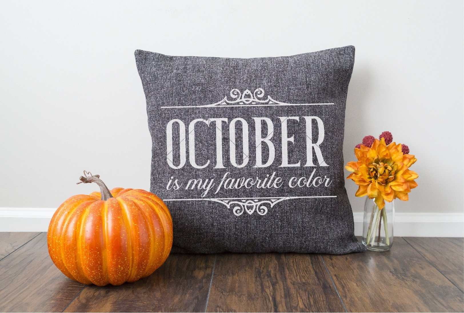 October is my Favorite Color SVG File - Commercial Use SVG Files