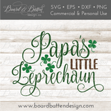 Mommy's Little Leprechaun SVG Set of 7 - Commercial Use SVG Files