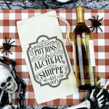 Potions and Alchemy Shoppe Vintage SVG Cut File for Halloween