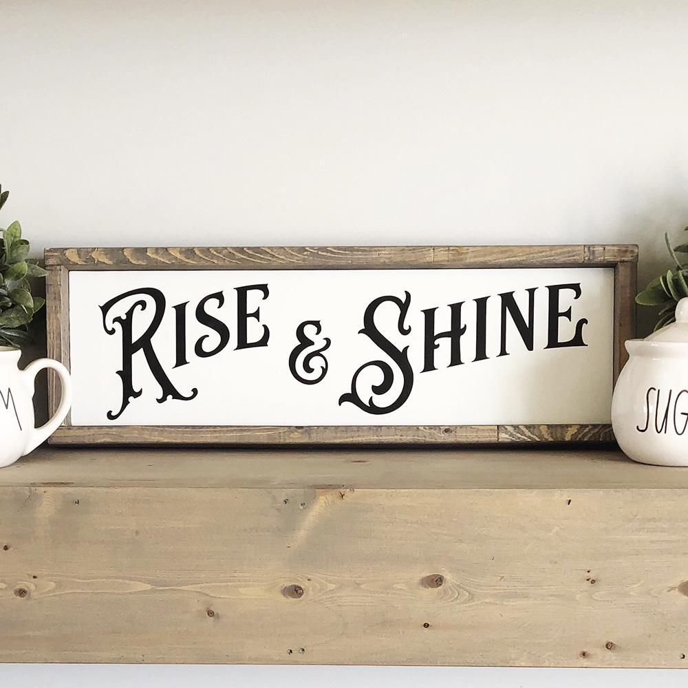 Rise and Shine SVG File - Commercial Use SVG Files