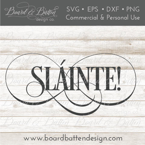 Slainte! SVG file