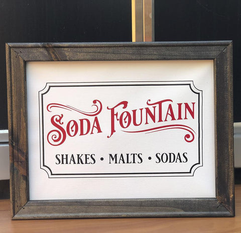 Vintage Soda Fountain SVG File