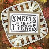 Sweets and Treats SVG File for Halloween - Commercial Use SVG Files