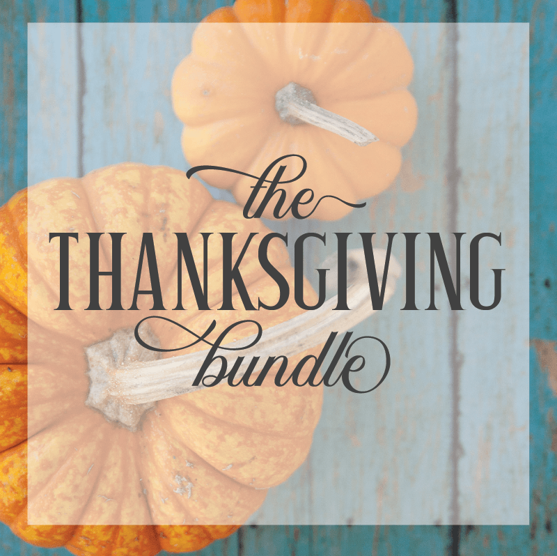Mega Thanksgiving Bundle - Commercial Use SVG Files