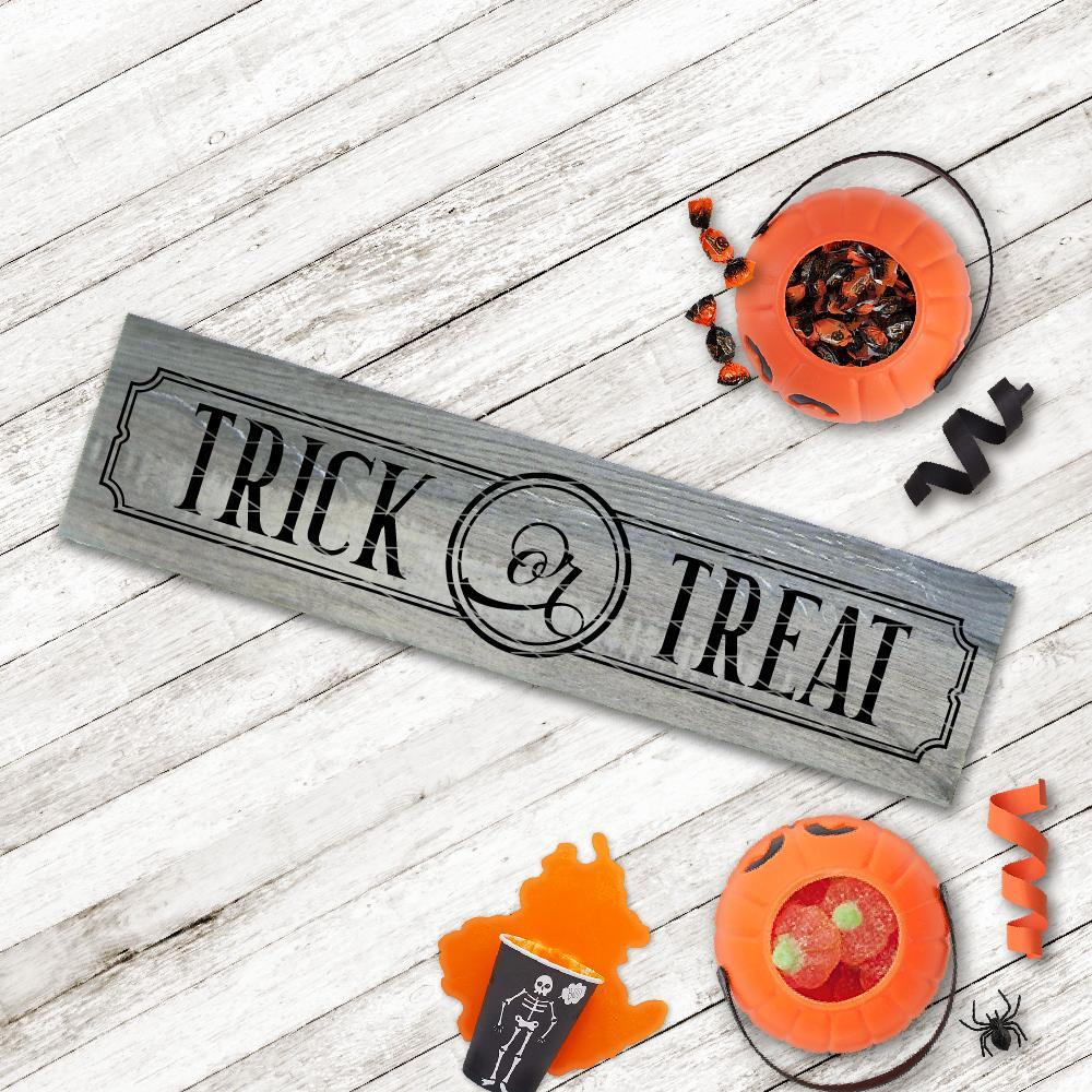 Trick or Treat Ticket SVG File - Commercial Use SVG Files