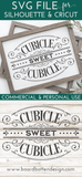 Victorian Style Cubicle Sweet Cubicle SVG File - Commercial Use SVG Files