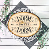 Victorian Style Dorm Sweet Dorm SVG File - Commercial Use SVG Files