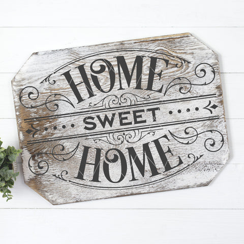 Victorian Style Home Sweet Home Cuttable SVG File
