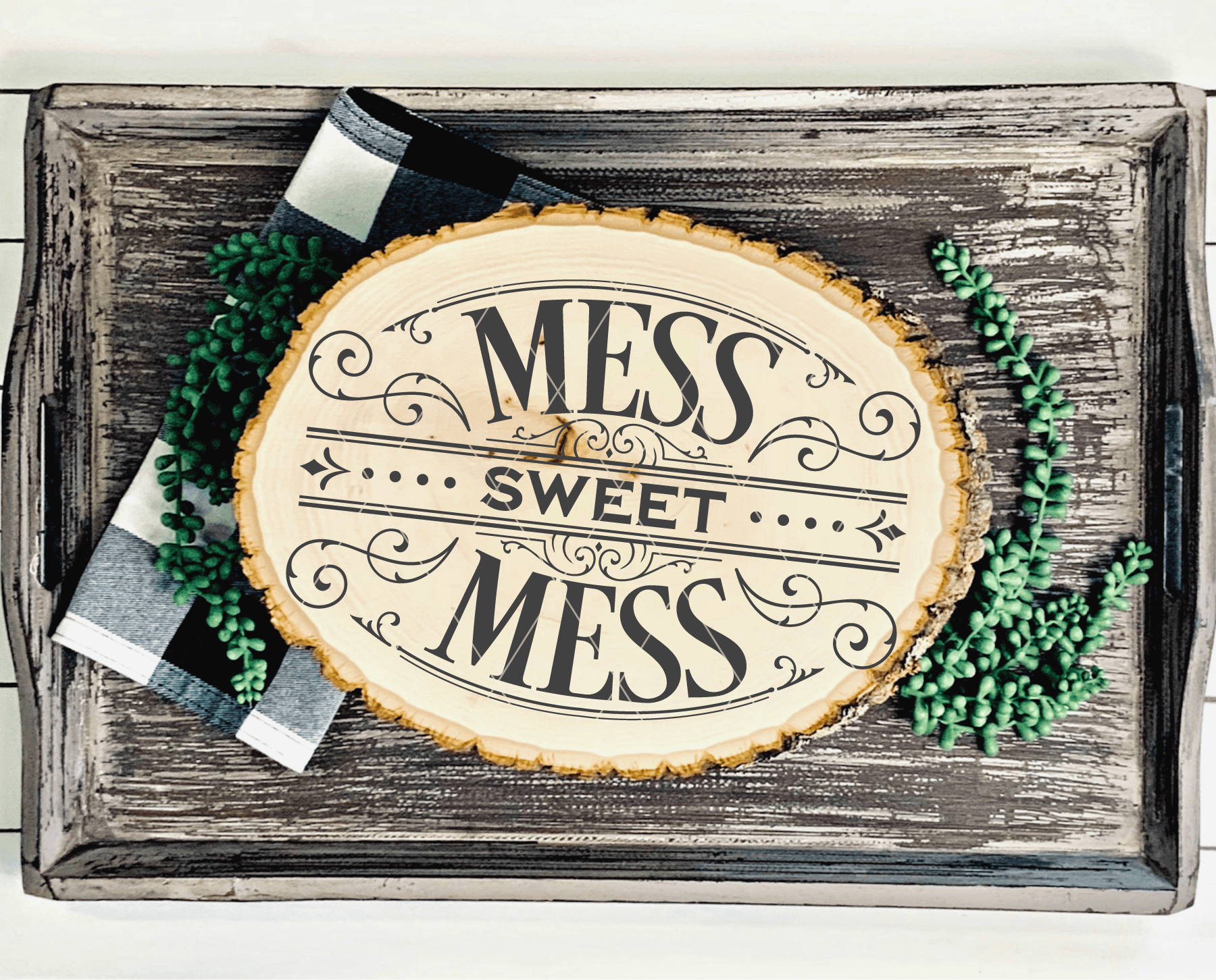 Victorian Style Mess Sweet Mess Cuttable SVG File - Commercial Use SVG Files