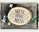 Victorian Style Mess Sweet Mess Cuttable SVG File
