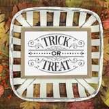 Victorian Goth Style Trick or Treat SVG File for Halloween - Commercial Use SVG Files
