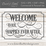 Wedding Decor SVG Coordinates Bundle - Style 5 - Commercial Use SVG Files