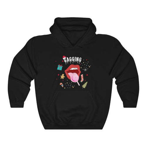 Gagging Holiday Unisex Hoodie