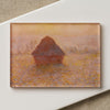 Magnet: Grainstack, Sun In The Mist- Monet