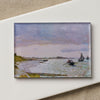 Magnet: The Beach at St. Adresse- Monet
