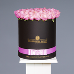 Dancing Clouds | Large Round Black Box - Legendary Roses