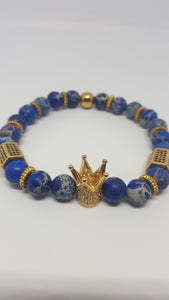 IMPERIAL CROWN 2pcs SET IN BLUE