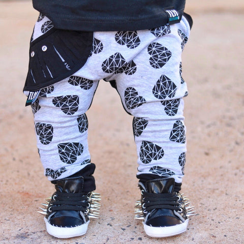 "LIMITED EDITION ""Heartbreaker"" Harem Joggers"