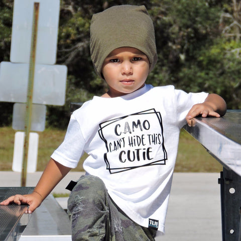 CAMO CAN'T HIDE THIS CUTIE