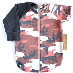 Ravin' Rust Distressed Tee/Raglan