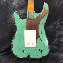 Firehawk Electric Guitar! New AND Handmade! Neon Green Retro Relic!! Feel The Mojo! Awesome!