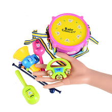 BOHS Baby Toy  Drums & Percussion Musical Instruments Gift Set 5pcs Kit