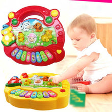 Toy Musical Instrument Educational Piano Animal Music For Children Baby Kids