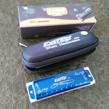 Even Better!! EastTop Diatonic 10 Hole Harmonica. Choose your key/color! Includes Deluxe case and cleaning cloth!