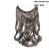 20 inches Invisible Wire No Clips Hair Extensions