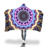 Mandala For Success Hooded Blanket