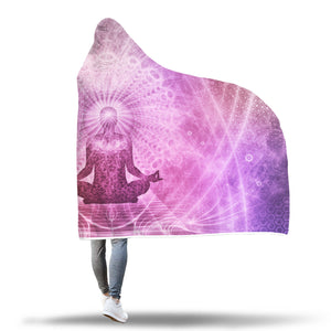 Spiritual Mind Hooded Blanket