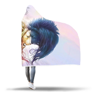 You And Me Forever Hooded Blanket