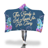 Family's Glory Hooded Blanket