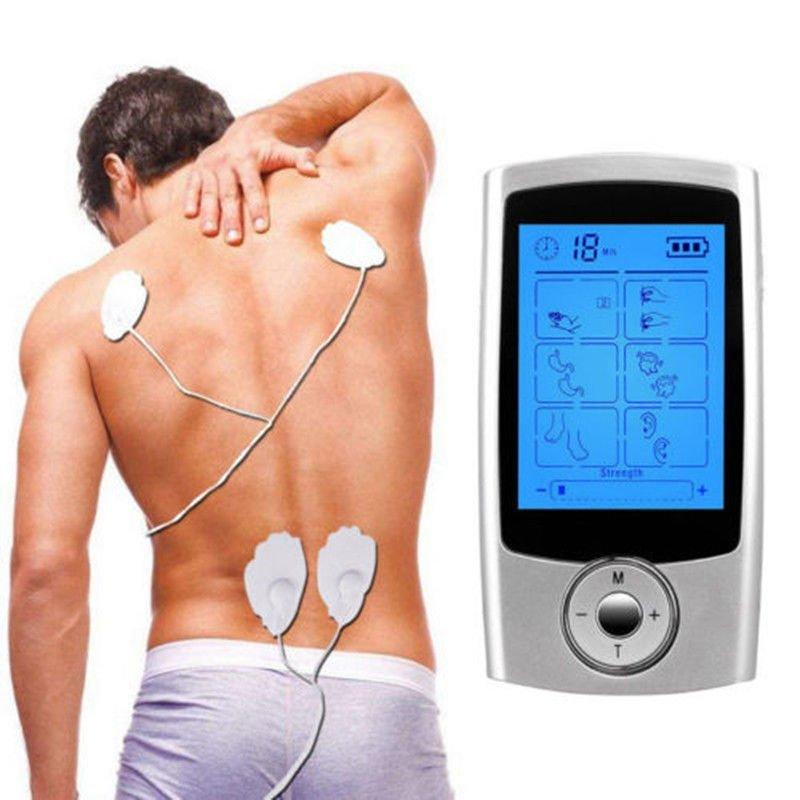 16 Mode TENS Unit FDA Cleared Mini Electronic Digital Pulse Massager Extra Pads