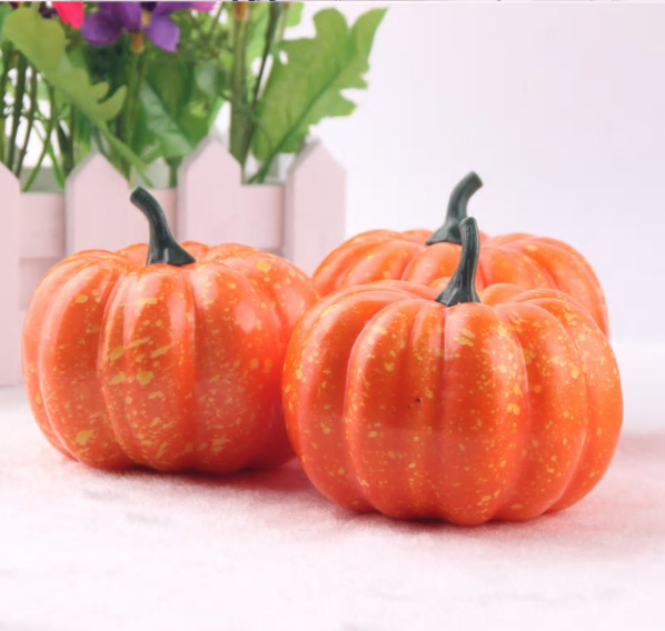 Realistic Mini Artificial Halloween Decorative Pumpkins