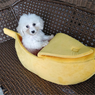 Cutest Banana Bed For Cat & Dogs - 50% Off Today