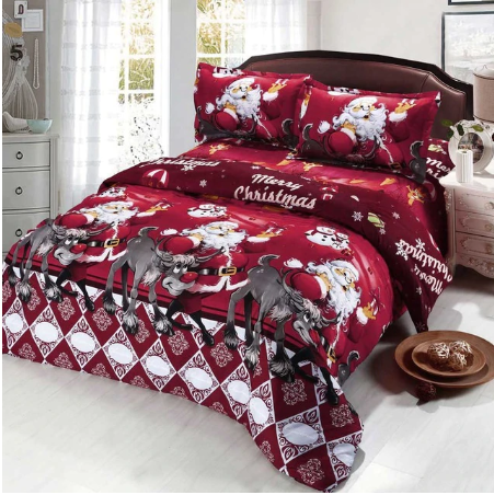 3D Christmas Bedding Sets  Queen/Twin/King Size