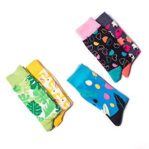 Unisex Easter Rabbit Eggs Socks/Bunny Decorations Socks For Home