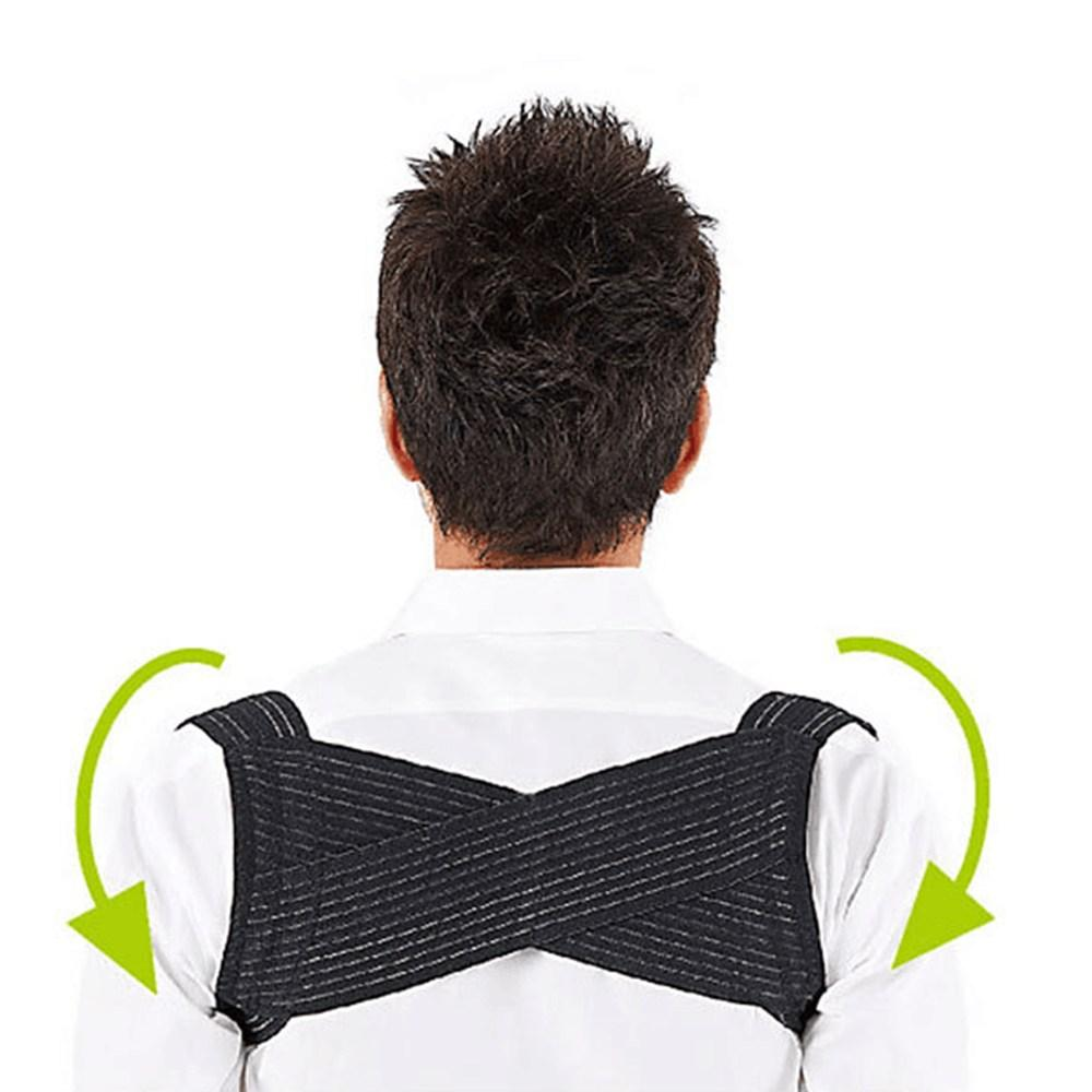 Adjustable Posture Corrector Corset Back Brace Relieves Neck Back And Spine Pain Improves Posture