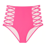 High Waist Swimwear Bikini Bottoms