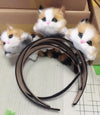 The cat hair band