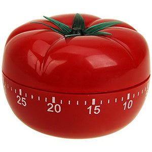 Creative Twist 60 Minute Tomato Shaped Kitchen Timer