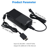 Xbox One Power Supply Brick, Ponkor [LATEST VERSION] AC Adapter Power Supply Cord Replacement Charger AC Power cord for Microsoft Xbox One