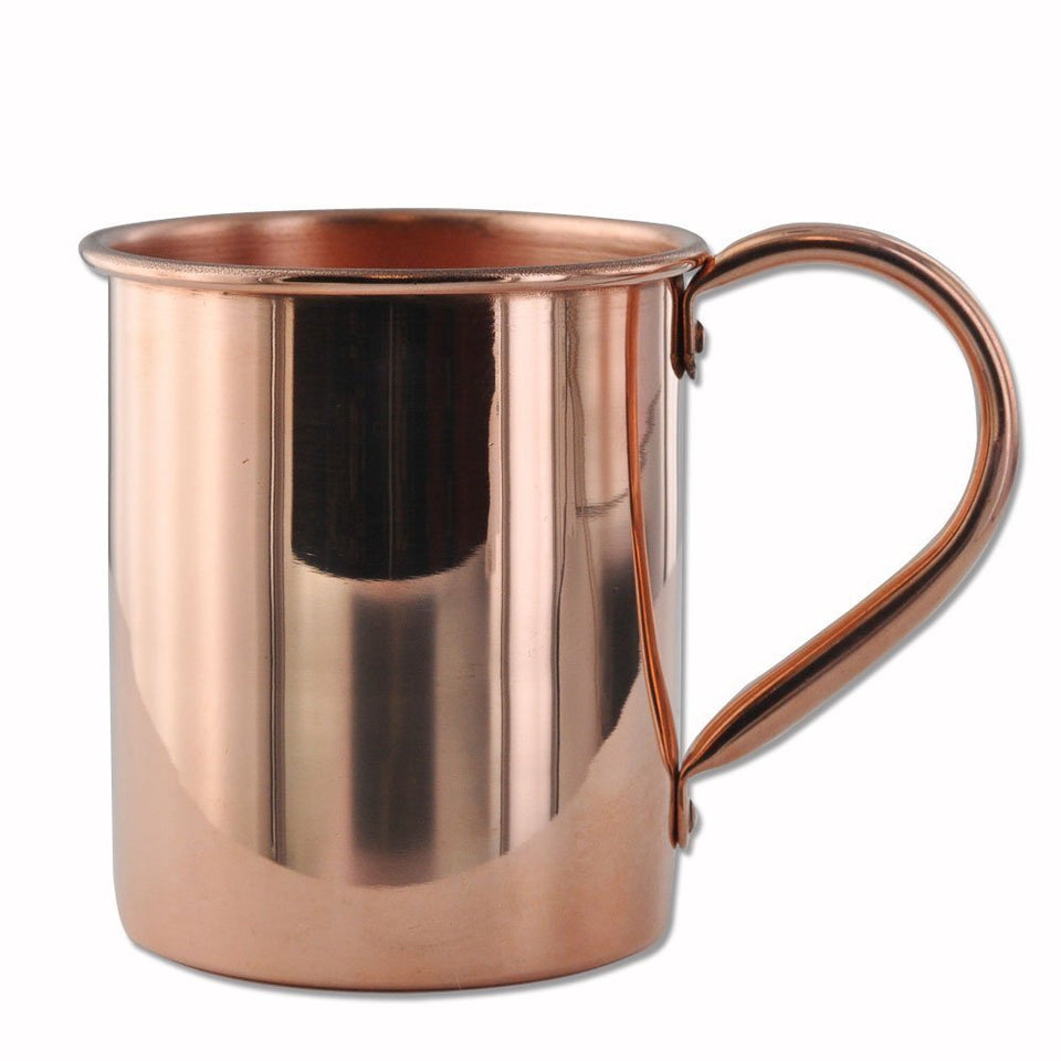 Set Of 4 - 100% Pure Copper Moscow Mule Mugs